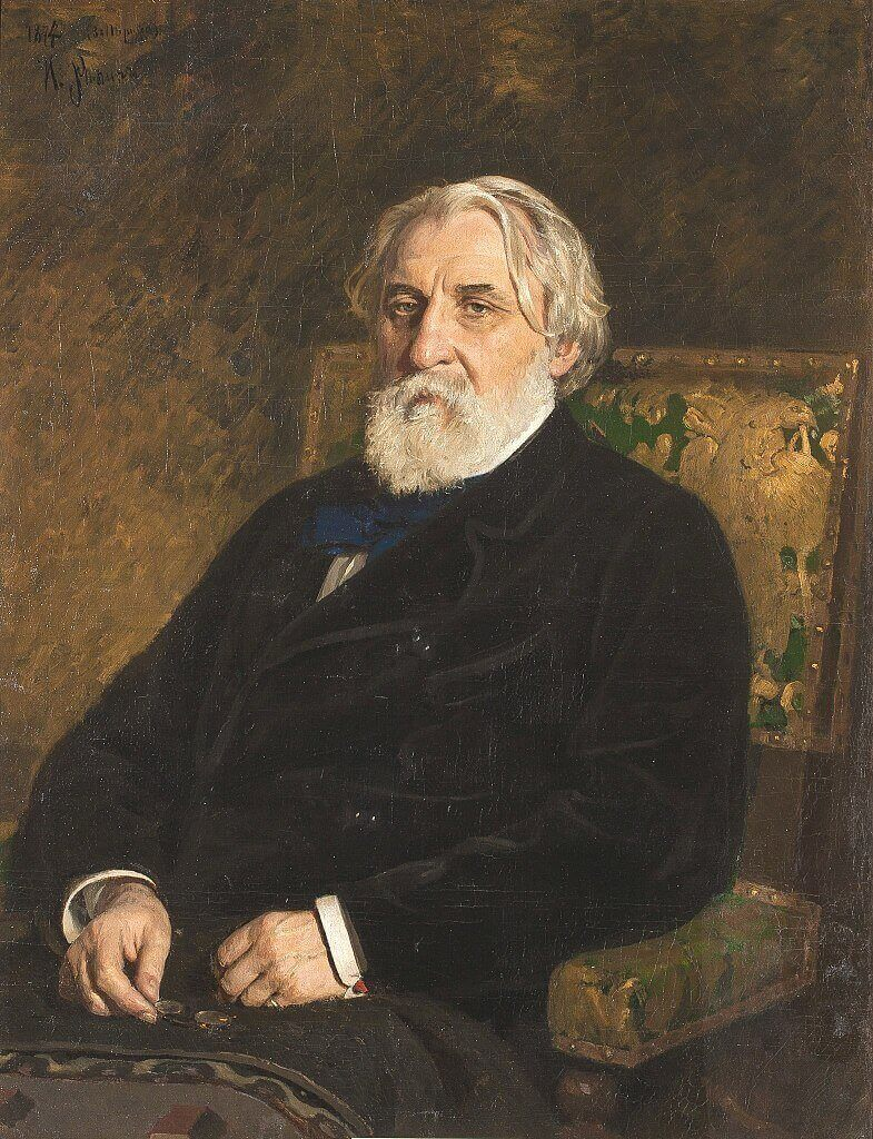 785px Turgenev by Repin